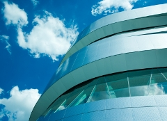 Glass Curved Building Image